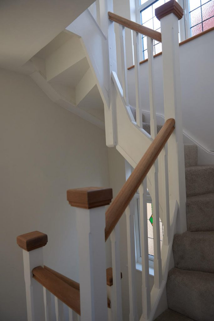 Middle of staircase